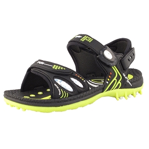 Kids Signature Sandal: 7620B Black (Size: K1-6.5)